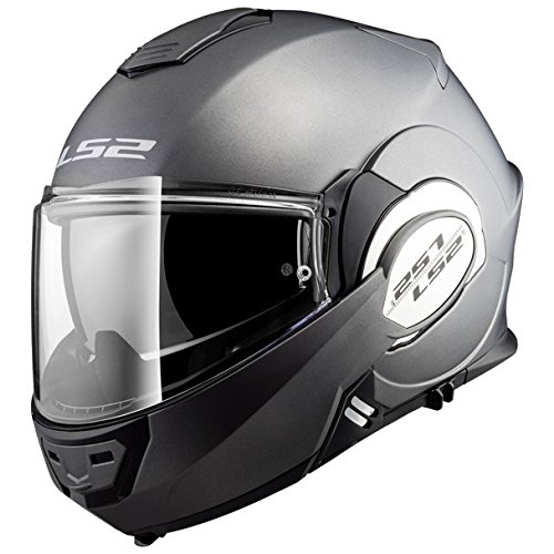 Helm Motorrad Dot Modular (LS2 FF399 Valiant Titanio Opaco L)