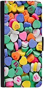 Snoogg Daily Candydesigner Protective Flip Case Cover For Apple Iphone 5C