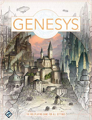Fantasy Flight Games FFGGNS01 Genesys: A Narrative Dice System Core Rulebook, Multicolor