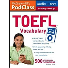 (TOEFL Vocabulary for Your iPod [With 16-Page Booklet]) By Zwier, Lawrence J. (Author) MP3 CD on (07 , 2009)