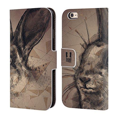 Head Case Designs Saison De La Chasse Polysketch Étui Coque De Livre En Cuir Pour Apple iPhone 4 / 4S Étape