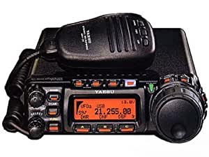 Yaesu FT857D Amateur Radio HF/VHF/UHF All Mode 10-100 Watts Mobile Transceiver