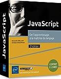 JavaScript - Coffret de 2 livres : De l'apprentissage à la maîtrise du langage (2e édition)