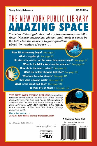 Amazing Space: A Book of Answers for Kids (New York Public Library Books for Kids)