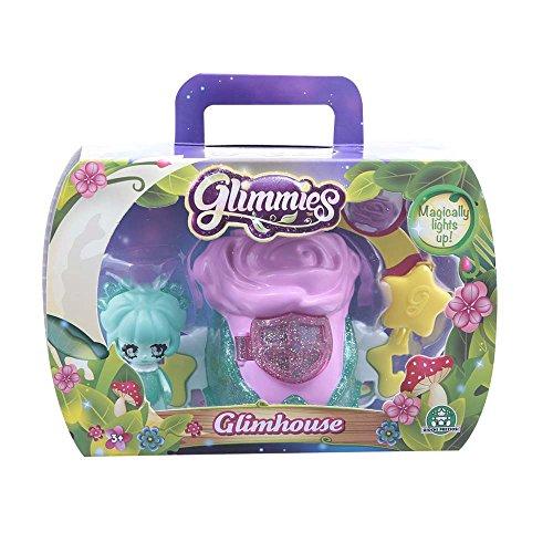 Giochi Preziosi - Glimmies Glimhouse con Mini-Doll Esclusiva, 6 Modelli Assortiti