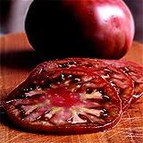 Portal Cool New Rare 100Pcs Tomatensamen Erbstück Gemüsesamen -Russisch Schwarz Krim Dark &