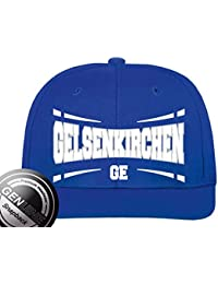 Viper Städte Fashion Baseball Snapback Cap Gelsenkirchen royal