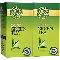 LaPlant Pure Green Tea - 50 Tea Bags (Pack of 2)