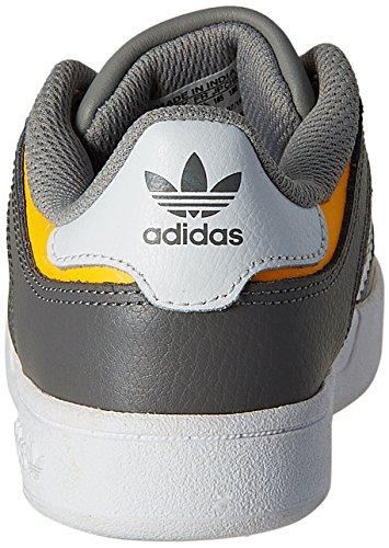 adidas Varial J, Chaussures de Skate Garçon Blanc Cassé - Blanco (Blanco (Ftwbla / Negbas / Grpudg))