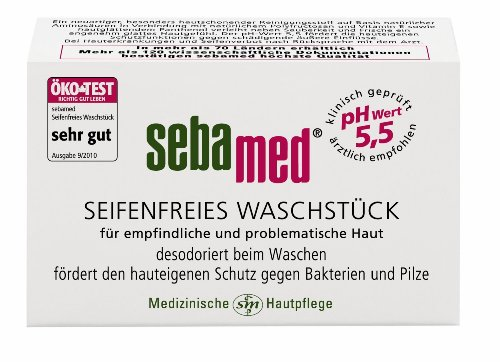 Sebapharma sebamed Waschstück, 3er Pack (3 x 100 g)