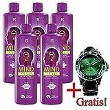CV24LR Mind Master Drink Formula Green, 5Pack Plus gratis LR Reloj