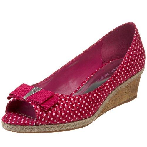 etienne-aigner-escarpins-pour-femme-rose-fuchsia-polka-dot