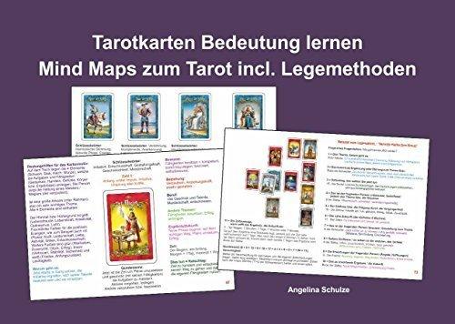Tarotkarten Bedeutung lernen - Mind Maps zum Tarot incl. Legemethoden (Tarot Anleitung ideal für Tarotkarten Osorio)