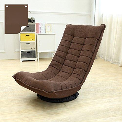 Lounger Sofa Stuhl Schlafzimmer kleine Wohnung Einzelzimmer Balkon Wohnzimmer Restaurant Freizeit Tuch Modern Minimalist ( Farbe : Kaffee - farbe ) (Sofa-stuhl Für Schlafzimmer)