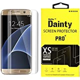 Dainty Tempered Glass Screen Guard for Samsung Galaxy S7 Edge (5.5 inch, Full Curved Edge to Edge Glass)