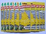 10x Wunder-Baum® Vanille Lufterfrischer Duftbaum Vanillaroma