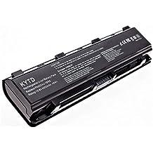 KYTD Batería de repuesto para portátil for Toshiba part number PA5023U-1BRS, PA5024U-1BRS, PA5025U-1BRS, PA5026U-1BRS, PABAS259, PABAS260, PABAS261, PABAS262, Satellite L850 Series [6 Celdas/4400mAh/48wh]