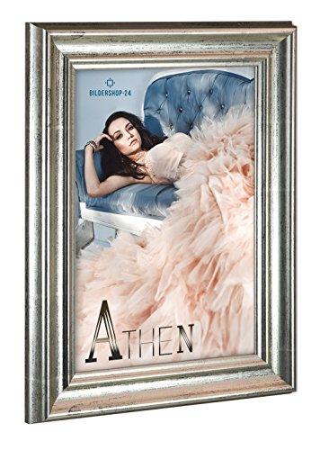 Cadre photo ATHEN 35x45 cm Argent antique