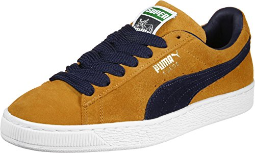 Puma Suede Super chaussures orange bleu