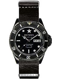 University Sports Press EX-DV-CAT-42-NL-BL - Reloj de cuarzo unisex, correa de cuero color negro