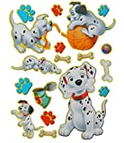18 tlg. Set XL Sticker / Aufkleber Kinder Kind - Disney 101 Dalmatiner Hund - Wasserfest Sticker