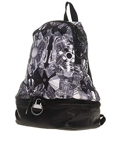 Frankie Morello Women's Saltoro Black Saltoro Backpack Polyamide Grey
