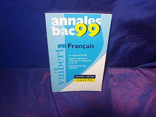 Annales 1999, français bac sujets, numéro 32