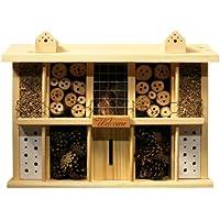 luxus-insektenhotels superior 22626e Bee Hotel/Insectos Casa con 10 habitaciones, balcón y