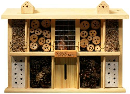 Luxus-insektenhotels superior 22626e bee insetto hotel/casa con 10camere, balcone e terrazza in country estate design