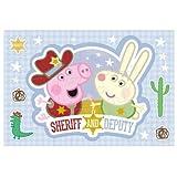 Puzzle 15 pièces Magic Decor : Peppa Pig et Richard le lapin