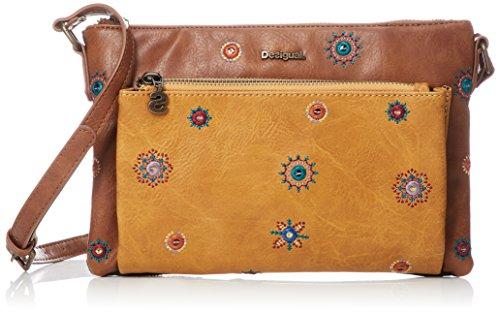 Desigual Julietta Toulouse - Handtasche, Camel, One Size