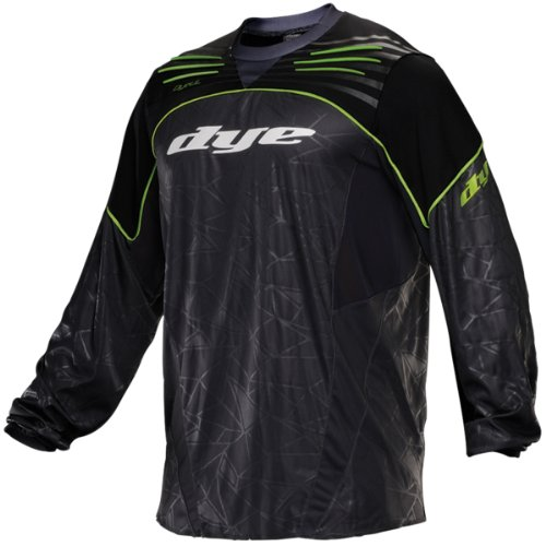 Dye Ultralite Paintball Jersey 2013 - Lime, Lime/Gray