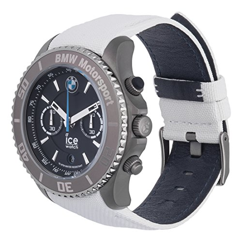 ice watch bmw motorsport steel white men 39 s. Black Bedroom Furniture Sets. Home Design Ideas