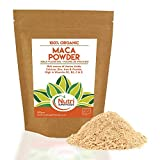 Bio MACA PULVER - Rohes Veganes Superfood - mit gesunden Nährstoffen zur Energieverbesserung (500g)