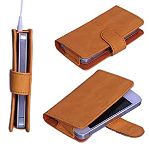 StylE ViSioN Pu Leather Pouch for Lava Iris 460
