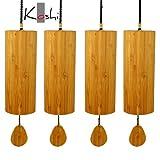 Koshi leewadee carillon éolien en quatre éléments aqua-feu, terre air