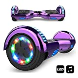 Hoverboard, Self Balance Scooter Elettrico, Balance Scooter con LED, Due Ruote...