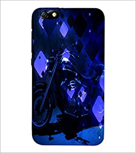 PrintDhaba Bike D-4867 Back Case Cover for HUAWEI HONOR 4X (Multi-Coloured)