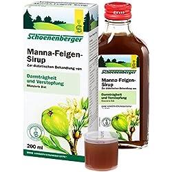 Feigen-Manna angenehm schmeckender Sirup Kur-Set 2x200ml. Zur natürlichen physiologischen Behandlung von Darmträgheit und Verstopfung. Milde Wirkungsweise, auch für Schwangere und Kinder geeignet.