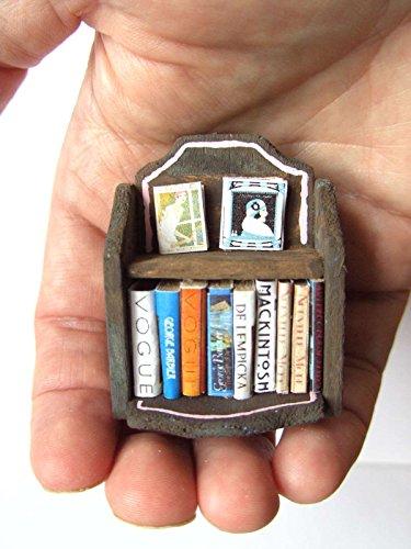 ooak-1-24th-scale-dollhouse-miniature-art-deco-bookcase-books-vogue-vanity-fair