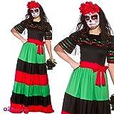 Wicked - Disfraz de Mexicana para el Día de los Muertos - 46-48cm