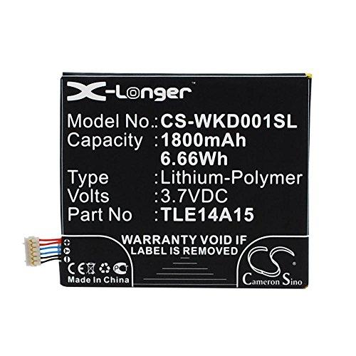 Preisvergleich Produktbild cellePhone Akku Li-Polymer für Wiko Darkmoon ( ersetzt TLE14A15 )