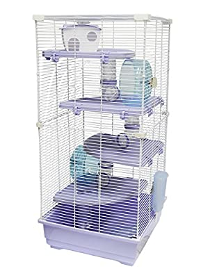 "Heritage ""Park"" Extra Large 4 Platform 5 Storey Hamster Rat Gerbil Animal Cage by Heritage Pet Products"
