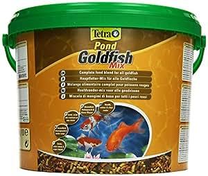 Tetra pond goldfish mix 10 l pet supplies for Goldfish pond kits