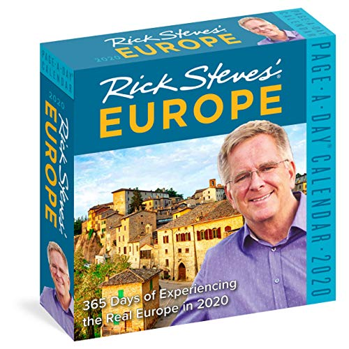 Rick Steves' Europe Page-A-Day Calendar 2020