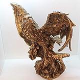 Kaige Tischdekoration Harz Handwerk Antik Bronze Adler Home