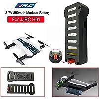 Malloom Actualización de 1PC Batería Li-po 3.7V 850mAh y Carga USB para JJRC
