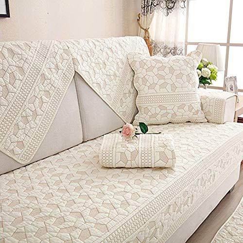 Zzy divano componibile cotone gettare coprire pad divano per animali cane tutta la stagione antiscivolo reversibile u l forma divano copertura mobili protector -1 pezzo-e 70x150cm(28x59inch)