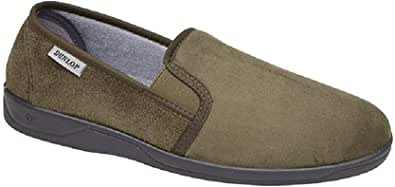 Dunlop, MS431, Jethro Faux Suede Slippers