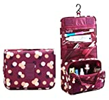 ZZLAY Multifunktions Hanging Toiletry Kit Reise BAG Kosmetik Tragetasche Portable Make-up Tasche wasserdichte Reisetasche für Frauen Mädchen